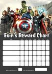 Personalised Avengers Reward Chart (adding photo option available)